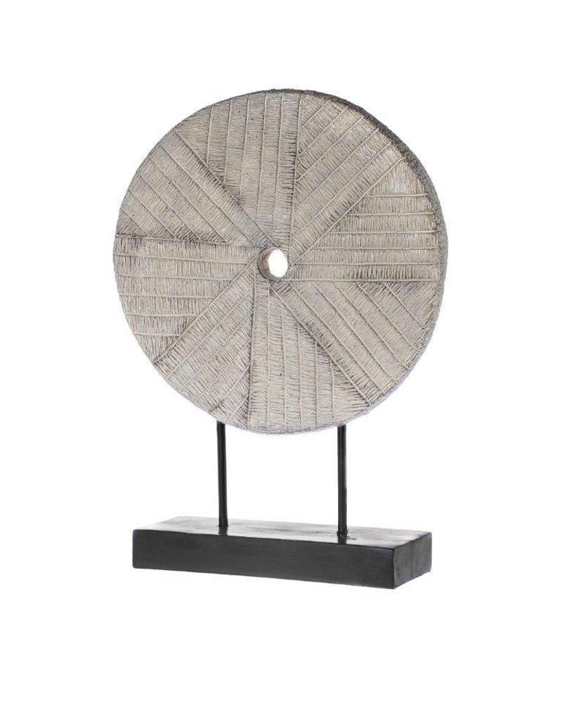 Riverdale Ornament Millstone grijs 62cm