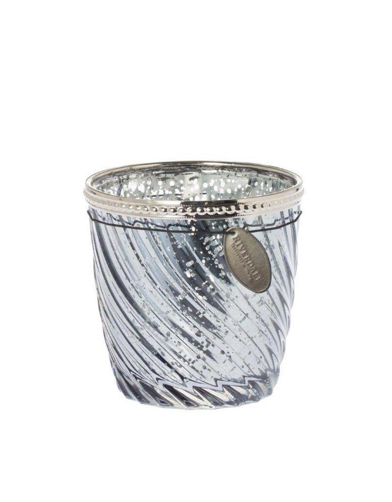 Riverdale Sfeerlicht Swirl d.grijs 9cm