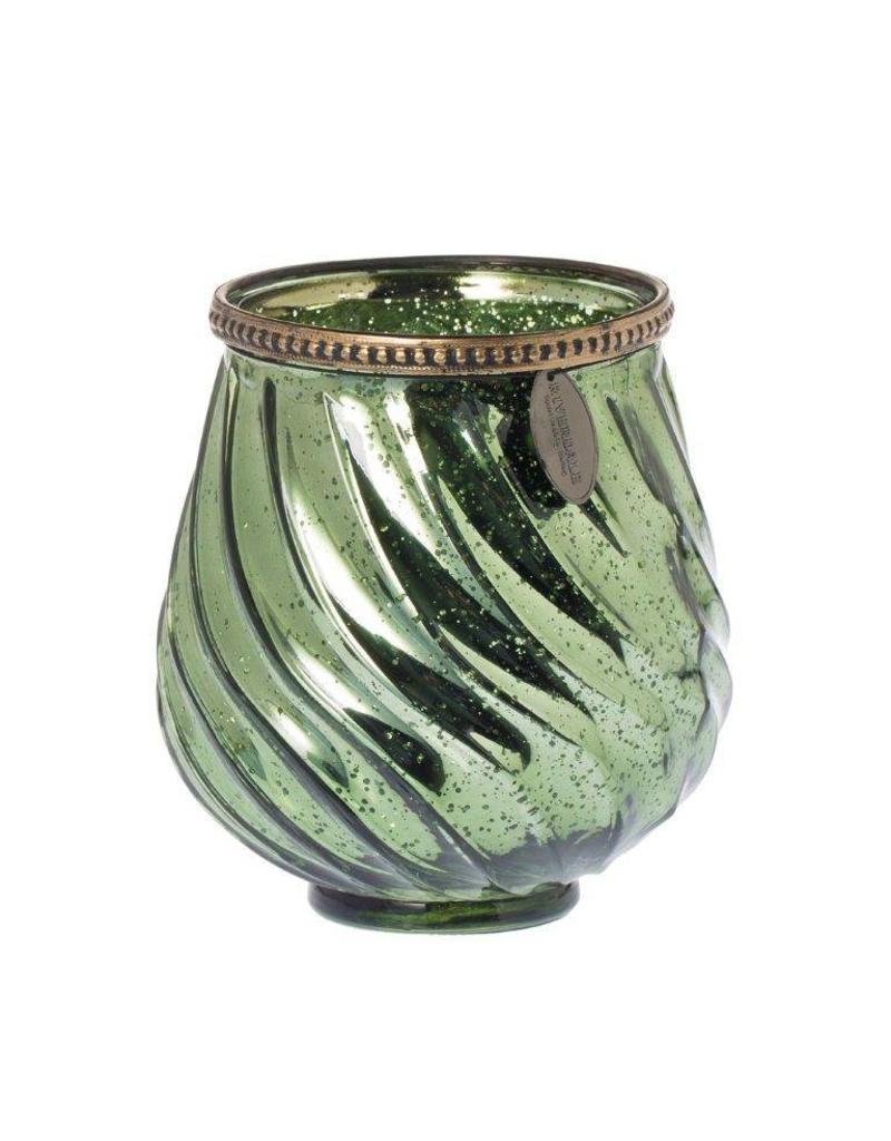 Riverdale Sfeerlicht Swirl emerald 13cm