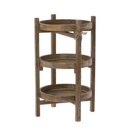 Riverdale Etagere Basic natural rond 50cm
