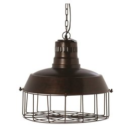 Riverdale Hanglamp Milton bronze 39cm