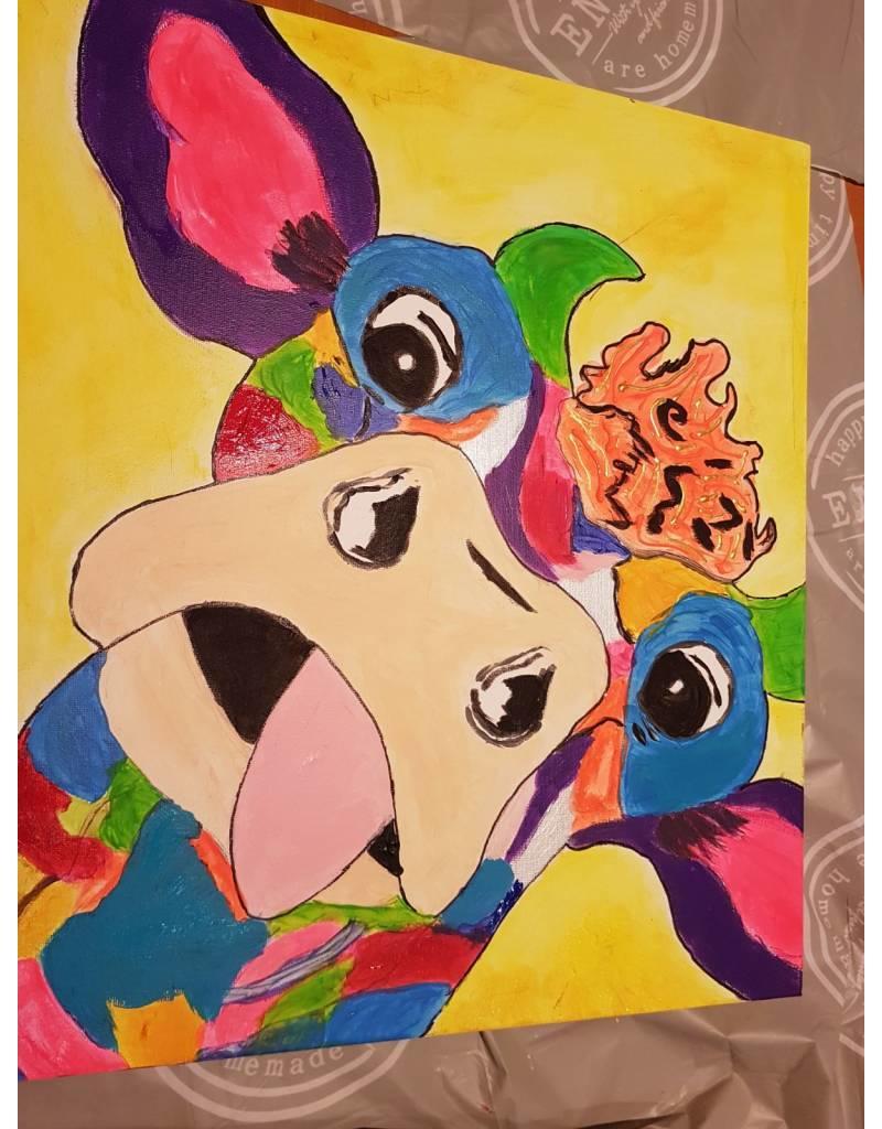 Workshop Schilderen (koe) 8 november