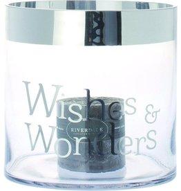 Riverdale WINDLICHT WISHES&WONDERS 25CM HLD