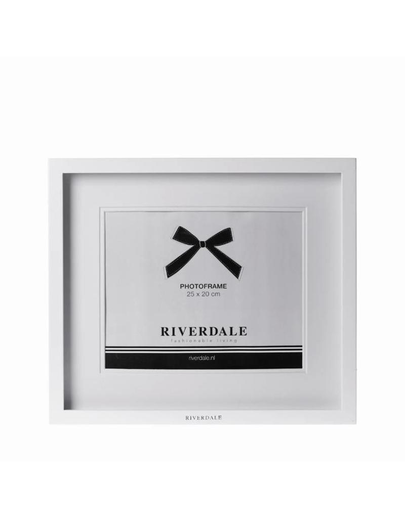 Riverdale FOTOLIJST FASHION 25X20CM WIT