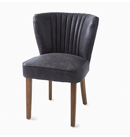 Riviera Maison Pebble Beach Dining Chair pellini Anthraciet