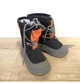 Snowbboot Junior maat 29 Zwart/oranje