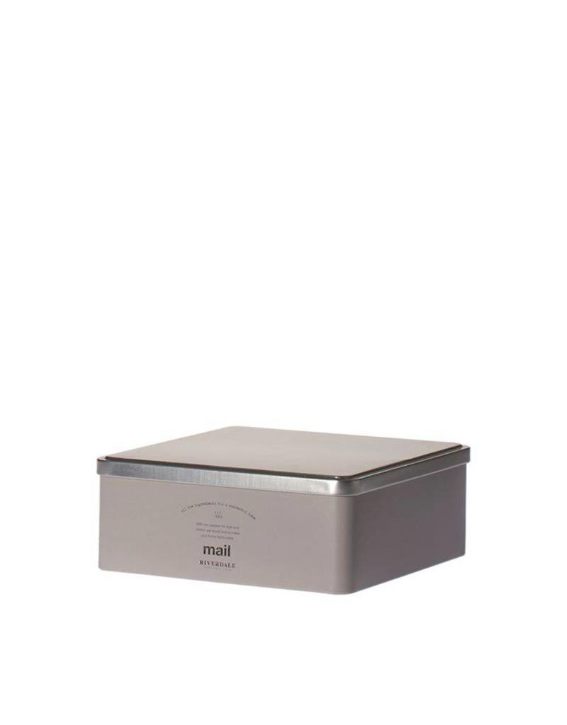 Riverdale Box Mail grey 24cm