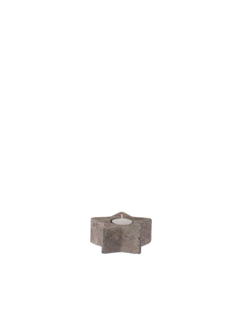 Riverdale Sfeerlicht Star brown 12cm