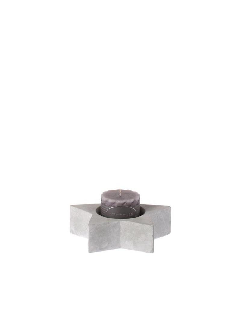Riverdale Sfeerlicht Star l.grey 19cm