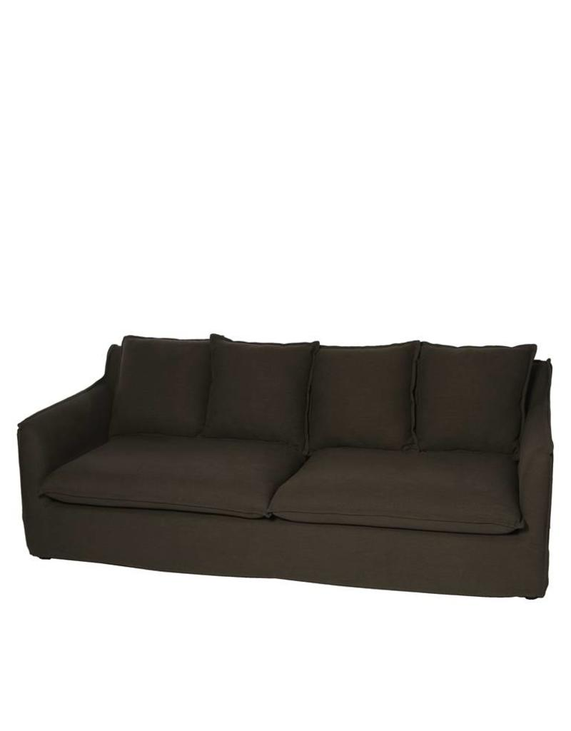 Riverdale Sofa Preston black 3.5-zits 212cm