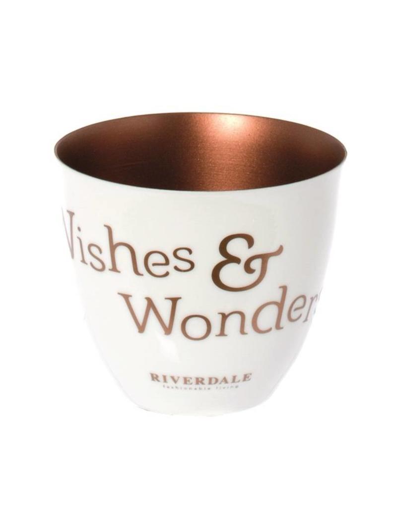 Riverdale Sf.licht Wishes&Wonders koper 8cm