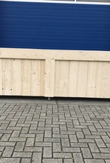 Verrijdbare Bar / Balie / Toonbank van steigerhout
