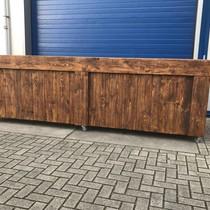Maasdijk  Verrijdbare Bar / Balie / Toonbank van steigerhout : Model Maasdijk