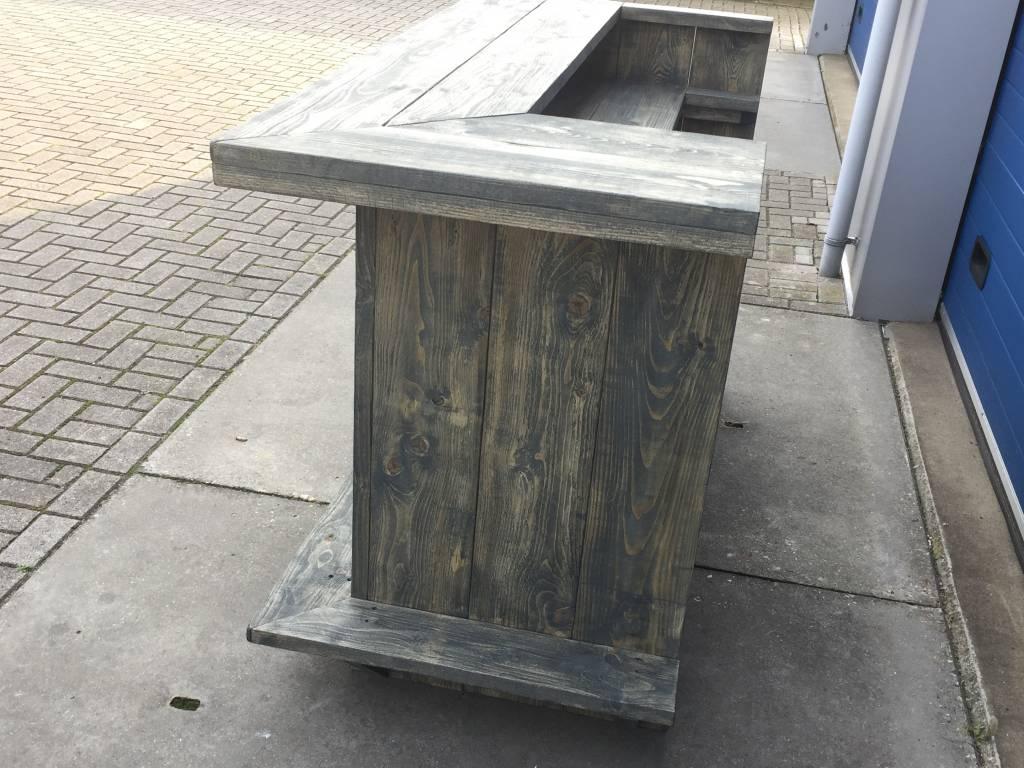 Marty Bar / Balie / Toonbank van steigerhout