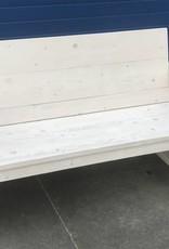 Tuinbank van steigerhout