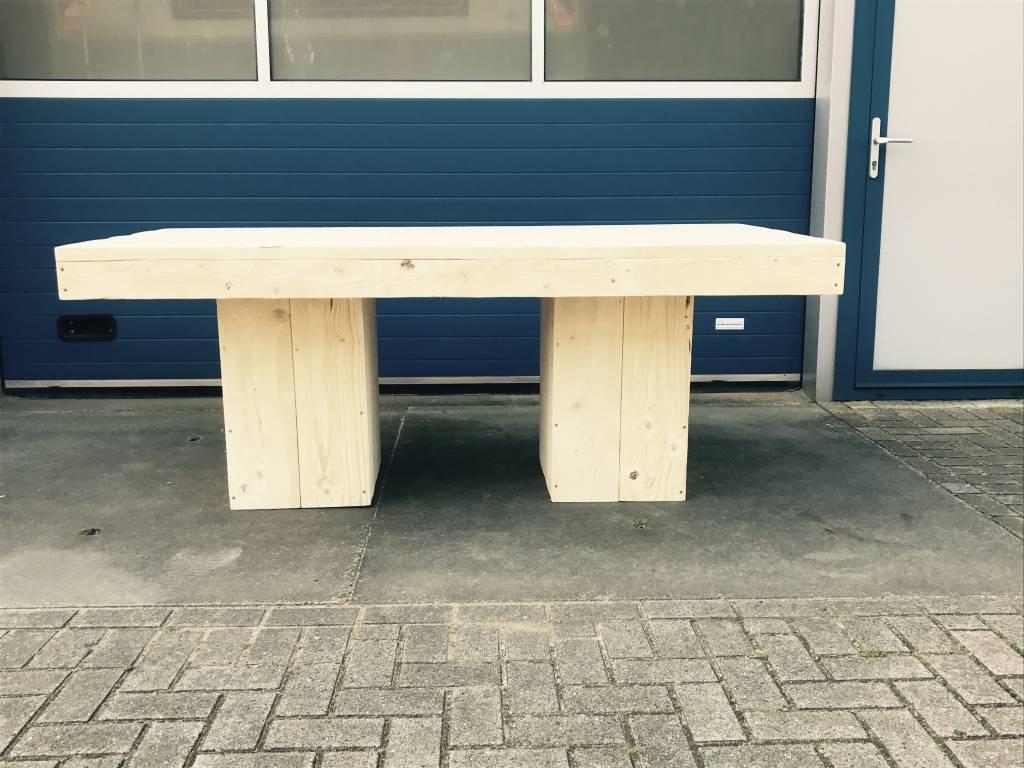 Eettafel /Vergadertafel / Kantoortafel / Kantinetafel van steigerhout