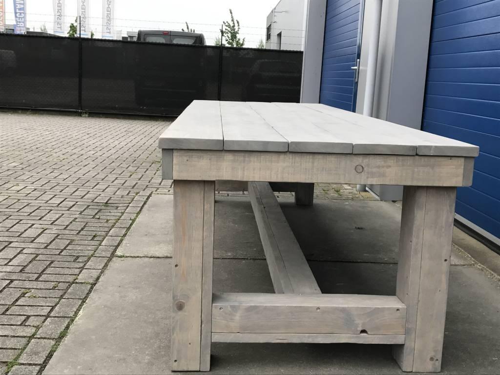 Portagem Kloostertafel XXl van steigerhout