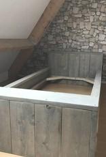 Different Bed van steigerhout: Model Different