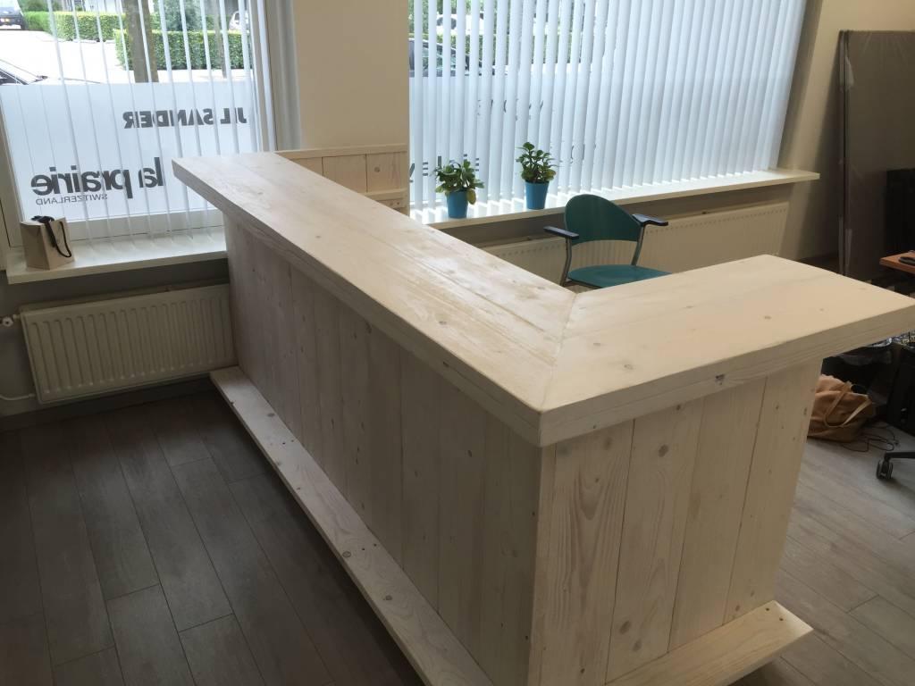 Bar / Balie / Toonbank van steigerhout