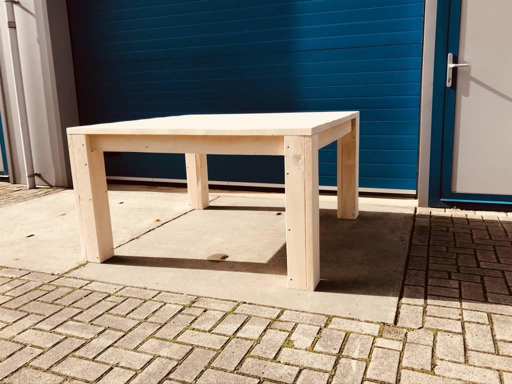 Jaap Kees Vierkante Stamtafel van steigerhout