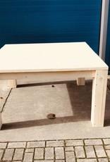 Vierkante Stamtafel van steigerhout