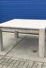 Vierkante Eettafel / Stamtafel van steigerhout