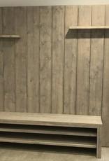 Trent TV meubel / Wandmeubel van steigerhout: Model Trent