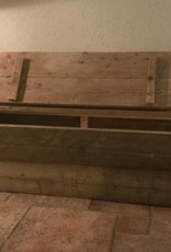Prinsengracht Dekenkist / Opbergkist oud steigerhout