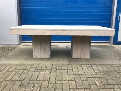 Famke Eettafel /Vergadertafel / Kantoortafel / Kantinetafel van steigerhout