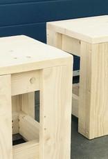 Gijs Krukje van steigerhout: Model Gijs