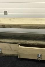 Stefan TV Meubel gemaakt van oud en nieuw steigerhout