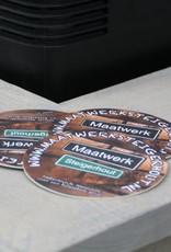 Alwoodly  Verrijdbare Bar / Balie / Toonbank van steigerhout