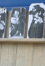 Wandbord / Lectuurrek van oud steigerhout