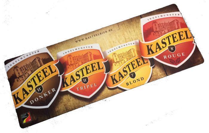 Barmat / Dripmat van Kasteelbier