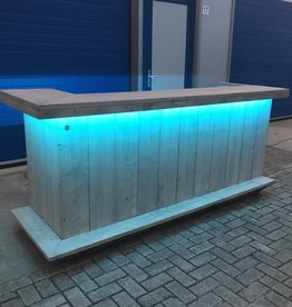 Bar met full colour LED pakket