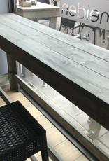 Zafra Smalle en lange Bartafel van steigerhout: Model Zafra