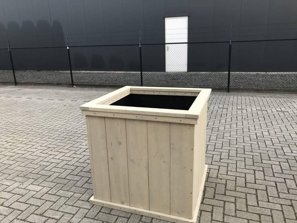 Eddy plantenbak / Bloembak van steigerhout XL: Model Eddy