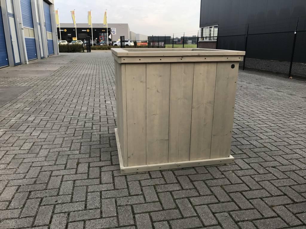 Eddy plantenbak / Bloembak van steigerhout XL