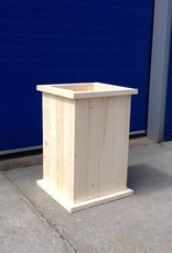 Oost Plantenbak / Bloembak van steigerhout : Model Oost
