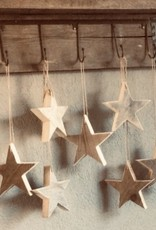 (Kerst) ster van steigerhout van oud steigerhout