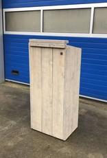 Orator Spreekgestoelte van steigerhout op wielen: Model Orator