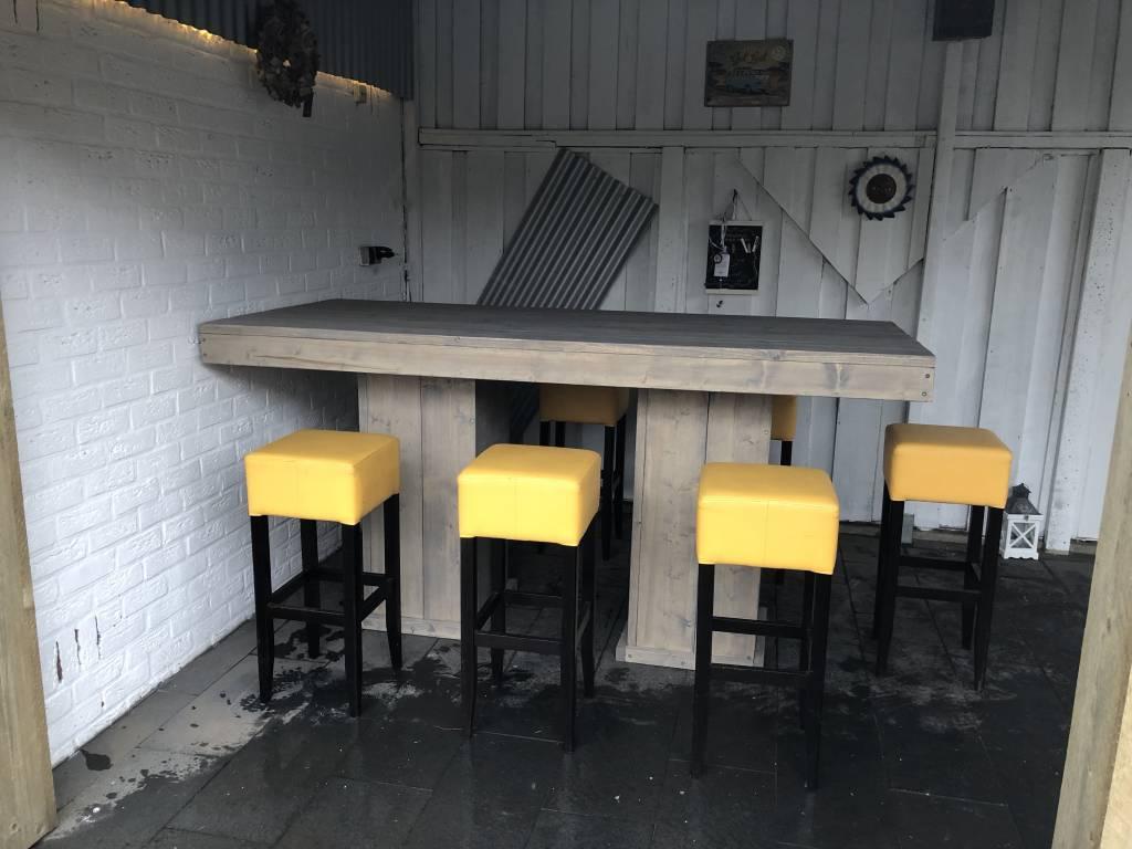 Bartafel / Stamtafel van steigerhout
