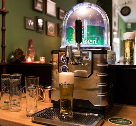 Blade het proffessionele biertapsysteem van Heineken