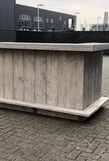 Bar / Toog van steigerhout