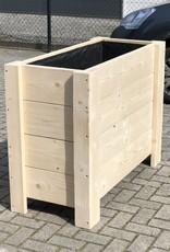 Hirs Plantenbak / Bloembak van steigerhout XL