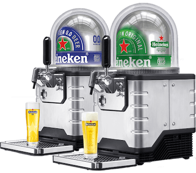 Verhuur Blade biertap systeem Heineken