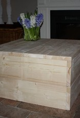 Hocker / Salontafel van steigerhout