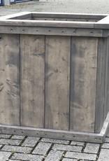 Natuur plantenbak / Bloembak van steigerhout XL