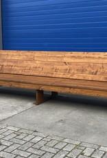 Sanne Extra grote Terrasbank van steigerhout