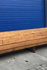Sanne Extra grote Terrasbank van steigerhout: Model Sanne XL